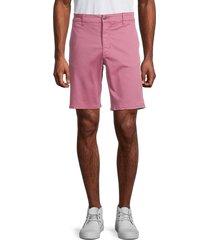 joe's jeans men's the trouser stretch-cotton shorts - navy peony - size 32
