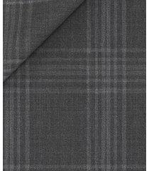 blazer da uomo su misura, vitale barberis canonico, pura lana super 120's principe di galles grigio scuro, primavera estate | lanieri