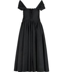 philosophy di lorenzo serafini cotton corset dress
