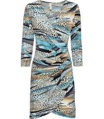 abito a portafoglio (blu) - bodyflirt boutique