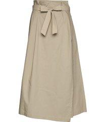 andreis lång kjol beige weekend max mara
