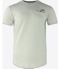 t-shirt korte mouw gabbiano denim 15171 t-shirt-ecru