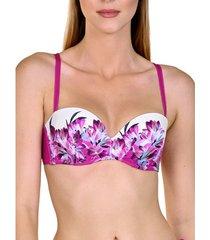 bikini lisca egina voorgevormde balconette bandeau zwempak top
