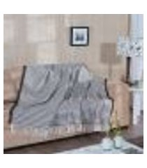 manta para sofá max - 150 x 200 cm tabaco