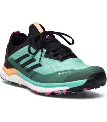 terrex agravic flow gore-tex trail running shoes sport shoes running shoes blå adidas performance