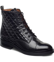 boots 4750 shoes boots ankle boots ankle boot - flat svart billi bi