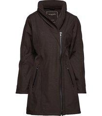 3/4 raincoat regenkleding zwart ilse jacobsen