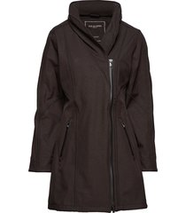 3/4 raincoat jas zwart ilse jacobsen