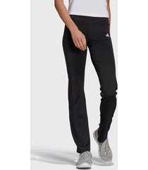 pantalón adidas performance w sl pt negro - calce ajustado