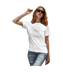 camiseta basica my t-shirt chimp branco