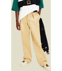 tommy hilfiger men's icon organic cotton chino pant sand trap - 36/32
