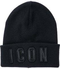 cuffia berretto uomo in lana icon