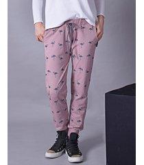 spodnie flamingi