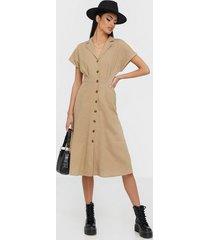 object collectors item objnans s/s long dress 107 div loose fit dresses