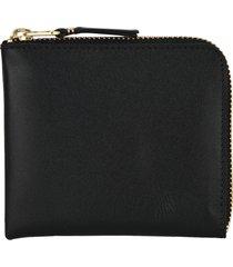 comme des garcons wallet zip classic wallet