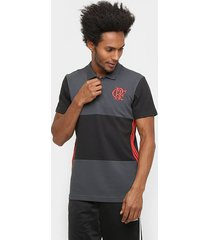 camisa polo adidas flamengo 3s