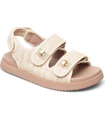 lockstockk shoes summer shoes flat sandals creme dune london
