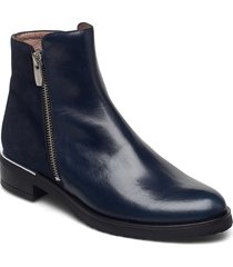 c-5402 shoes boots ankle boots ankle boot - flat blå wonders