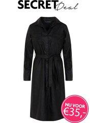 secret deal leren jurk