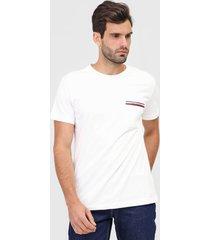 camiseta tommy hilfiger bolso off-white
