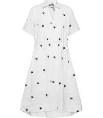 freja dress knälång klänning vit just female