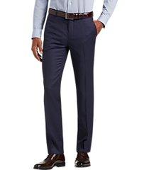 joe joseph abboud blue extreme slim fit suit separate pant