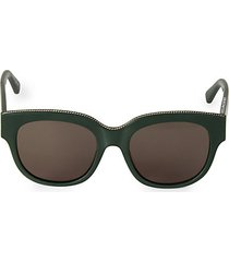 54mm square sunglasses