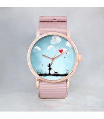 - 12 % star girl love obłoki - zegarek + opak