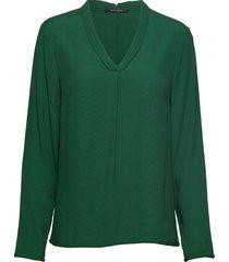 liva top blouse lange mouwen groen bruuns bazaar