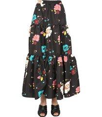 la doublej long skirt