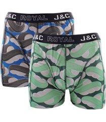 j&c heren boxer 2 pak 30052-xl