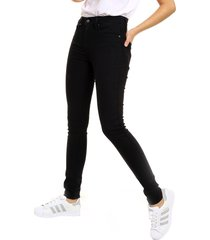 jean levis 721 high rise skinny soft black