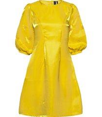 abigail dress korte jurk geel résumé