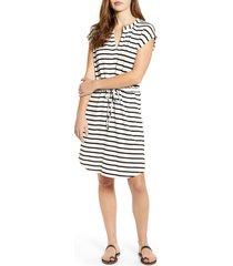 women's gibson x hi sugarplum! como drawstring jersey dress, size small - black