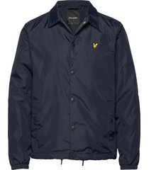 coach jacket dun jack blauw lyle & scott