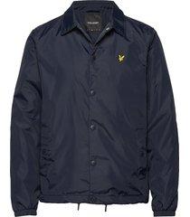 coach jacket dun jack blauw lyle & scott