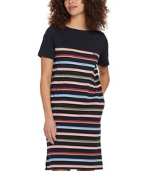 barbour hawkins striped cotton dress