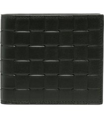 bottega veneta intrecciato leather wallet - green