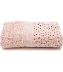 toalha de rosto buddemeyer princess rosa 48x90 - kanui