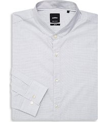 striped slim-fit dress shirt