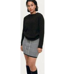 kjol carro knitted skirt