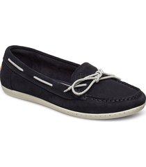 pinkhill moccasin loafers låga skor blå gant