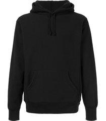 supreme sequinned arc hoodie - black