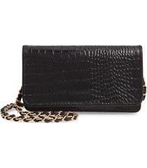 nordstrom sandra leather clutch -