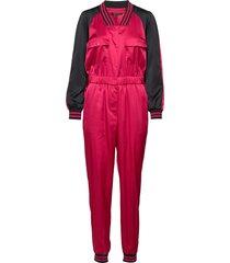 ax woman suit jumpsuit rood armani exchange