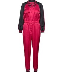 ax woman suit jumpsuit rood armani exchange