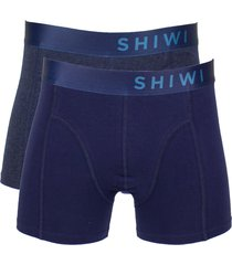 shiwi boxershorts solids 2-pak