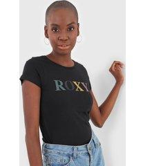 camiseta roxy four side preta