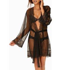 pyjama's / nachthemden lascana kimono verleiding van