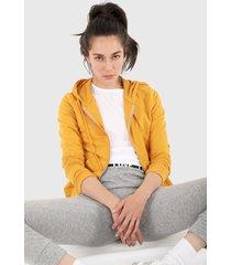 chaqueta amarillo active